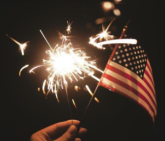 Fire Damage Fireworks Safety Tips