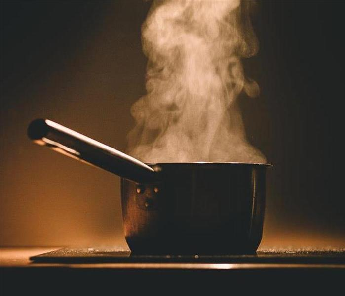 Fire Damage Kitchen Cooking - Stay Safe!