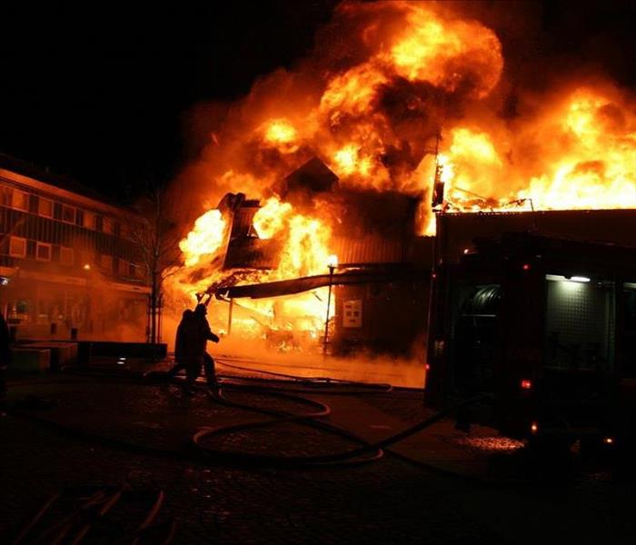 Commercial Commercial Fire Damage Clean up