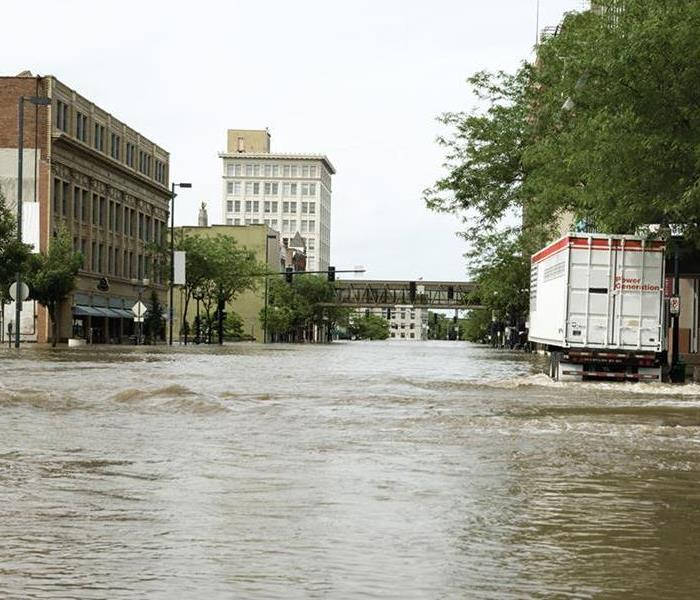 Storm Damage When Storms or Floods hit Chicago, SERVPRO is ready!